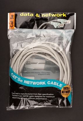 Picture of Dencon CAT 5E Network Cable 5m Grey