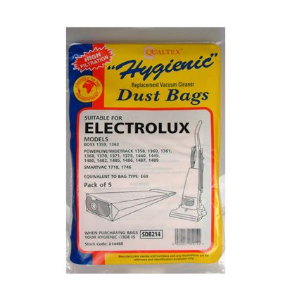 Picture of Dencon Electrolux Widetrack Dust Bags Pack 5