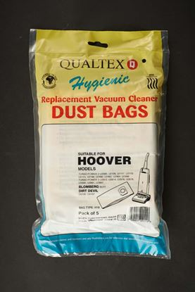 Picture of Dencon Hoover Upright Turbo Power Repacement Bags Pack 5