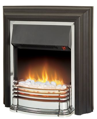 Picture of Dimplex Polished Chrome Fire 2000W