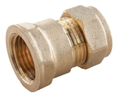 Picture of Oracstar Compression Straight Connector - Female 15mm x 12 FI