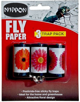 Picture of Nippon Fly Papers Pack 3