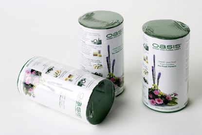 Picture of Oasis Ideal Floral Foam Cylinder 8 x 6cm