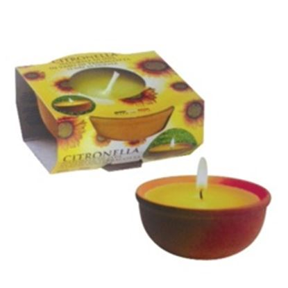 Picture of Prices Candles Citronella Terracotta Pot Small