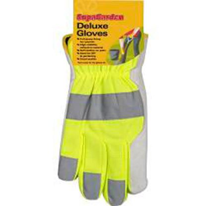 Picture of SupaGarden Deluxe High Visibility Gloves