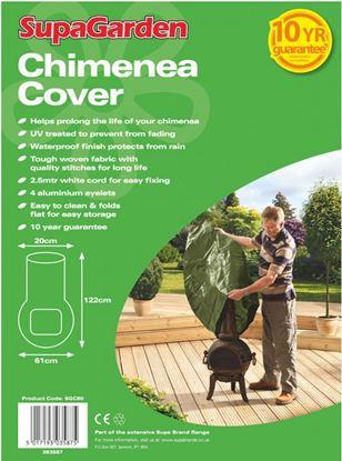 Picture of SupaGarden Chimenea Cover 122cm x 61cm