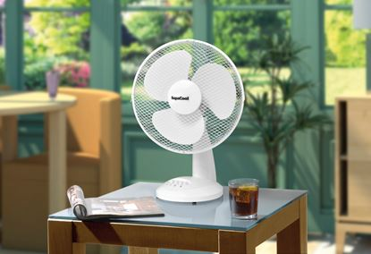 Picture of SupaCool Oscillating Desk Fan 12 inch