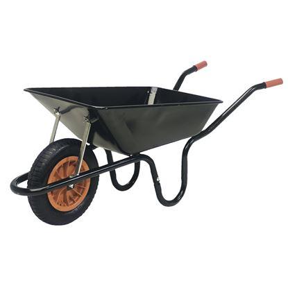 Picture of SupaTool Heavy Duty Wheelbarrow Black