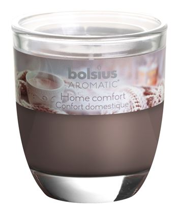 Picture of Bolsius Filled Glass 8070 Home Comfort