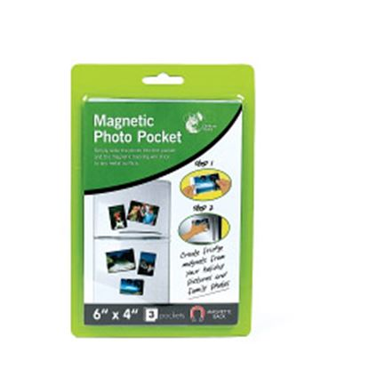 Picture of Chiltern Wove Magnetic Picture Pocket 3 Pack 6 x 4