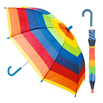 Picture of Drizzles Childs Striped Umbrella Assorted Designs