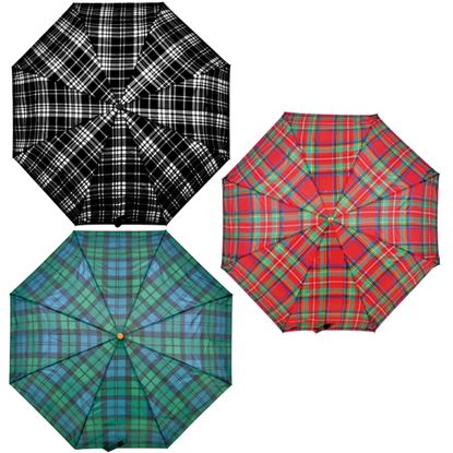 Picture of Drizzles Tartan Supermini Umbrella Assorted Tartans