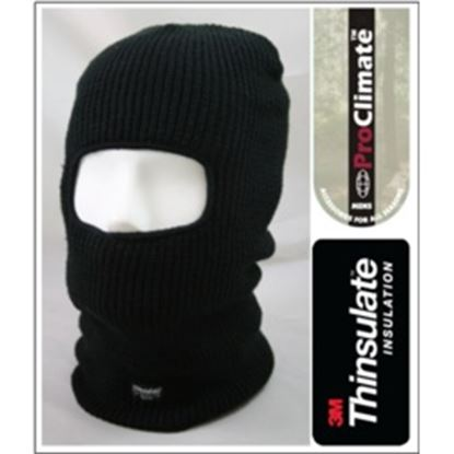 Picture of Fordville Mens Acrylic Thinsulate Balaclava Black