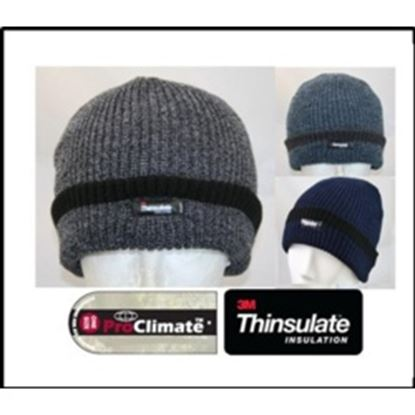 Picture of Fordville Mens Fishermen Knit Hat Thinsulate