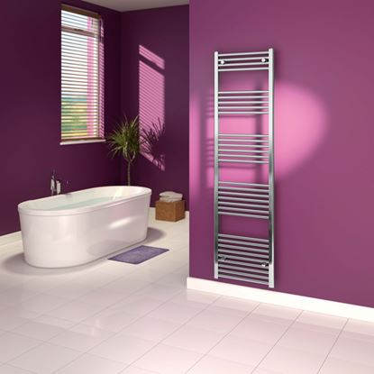 Picture of SupaPlumb Chrome Straight Towel Rail 500 x 1800mm