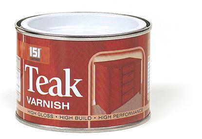 Picture of 151 Coatings Teak Varnish 180ml
