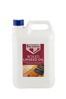 Picture of Bartoline Boiled Linseed Oil 5L