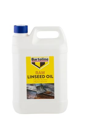 Picture of Bartoline Raw Linseed Oil 5L
