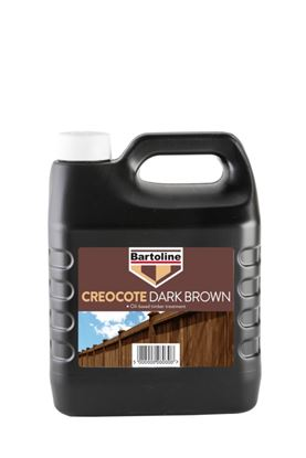 Picture of Bartoline Creocote Timber Treatment 4L Dark Brown