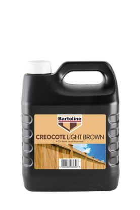 Picture of Bartoline Creocote Timber Treatment 4L Light Brown