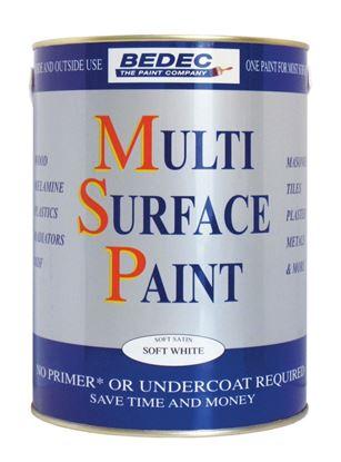 Picture of Bedec Multi Surface Paint Matt 750ml Magnolia