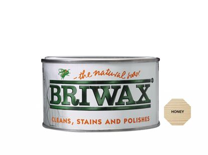 Picture of Briwax Natural Wax 400g Honey