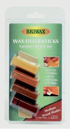 Picture of Briwax Wax Filler Sticks Medium