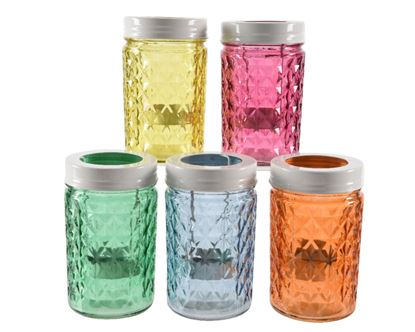 Picture of Kaemingk Glass Tealight Jar With Lid 7 x 12