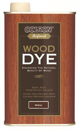 Picture of Colron Refined Wood Dye 250ml Walnut