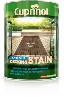 Picture of Cuprinol Anti Slip Decking Stain 5L Natural