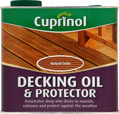 Picture of Cuprinol Decking Oil  Protector 2.5L Natural Pine