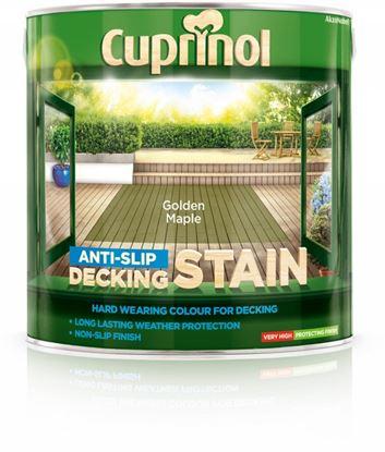 Picture of Cuprinol Anti Slip Decking Stain 2.5L Golden Maple