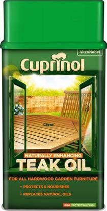 Picture of Cuprinol Garden Furniture Teak Oil 1L
