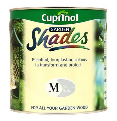 Picture of Cuprinol Garden Shades Medium Mix Base 2.5L