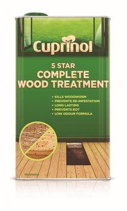 Picture of Cuprinol 5 Star Complete Wood Treatment 5L