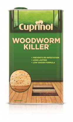 Picture of Cuprinol Woodworm Killer Low Odour 5L
