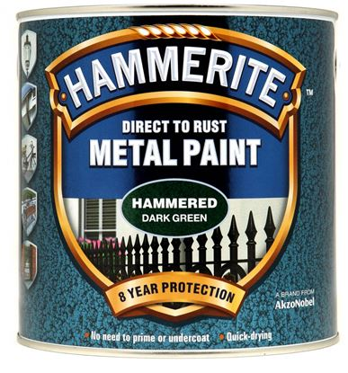 Picture of Hammerite Metal Paint Hammered 2.5L Dark Green
