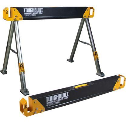 Picture of Toughbuilt Job Site Saw Horse Table 100cm