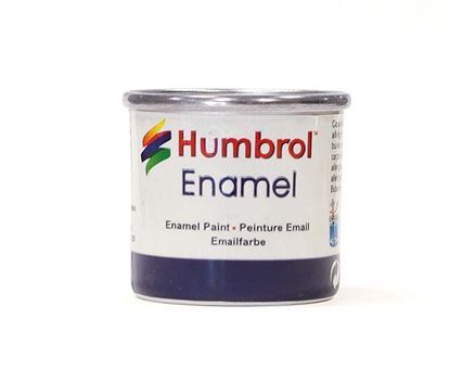 Picture of Humbrol Metallic 14ml No 191 Chrome Silver