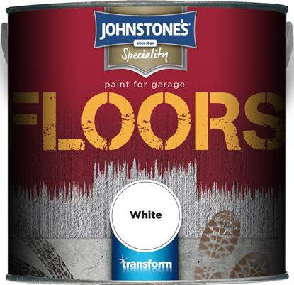 Picture of Johnstones Garage Floor Paint 2.5L White