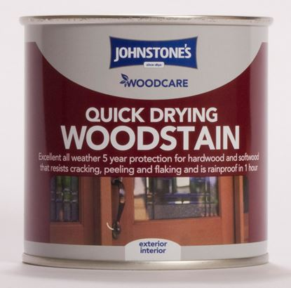 Picture of Johnstones Woodcare Quick Drying Woodstain 250ml Antique Pine