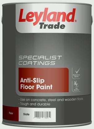Picture of Leyland Trade Anti-Slip Floor Paint 5L Slate
