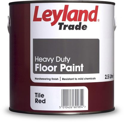 Picture of Leyland Trade Heavy Duty Floor Paint 2.5L Tile Red