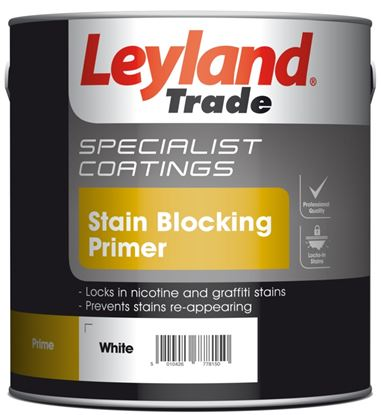 Picture of Leyland Trade Stain Blocking Primer 2.5L White