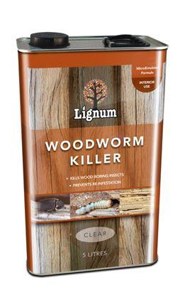 Picture of Lignum Woodworm Killer 5L
