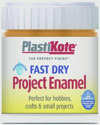 Picture of Plasti-kote Fast Dry Enamel Brush On Copper - 59ml Bottle