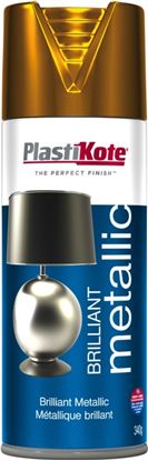 Picture of Plasti-kote Brilliant Metallic 400ml Aerosol Copper