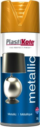 Picture of Plasti-kote Metallic Paint 400ml Brass