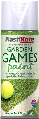 Picture of Plasti-kote Garden Games Paint 400ml Aerosol White