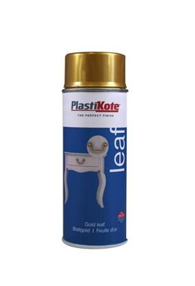 Picture of Plasti-kote Heritage Chalk Spray Paint 400ml Gold Leaf